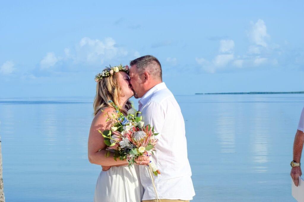 Tropical Beach Wedding in Islamorada