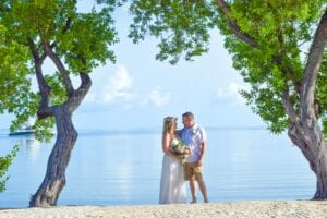 Tropical Beach Wedding in Islamorada