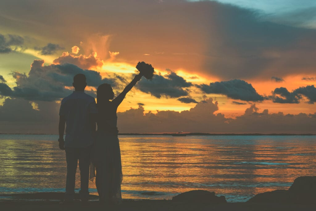 Real Wedding in Key Largo – Jorge & Dana – Seashell Package