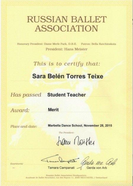 Sara Russian Ballet Association
