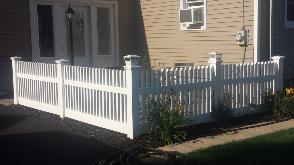 3_ H Solid White Picket Vinyl