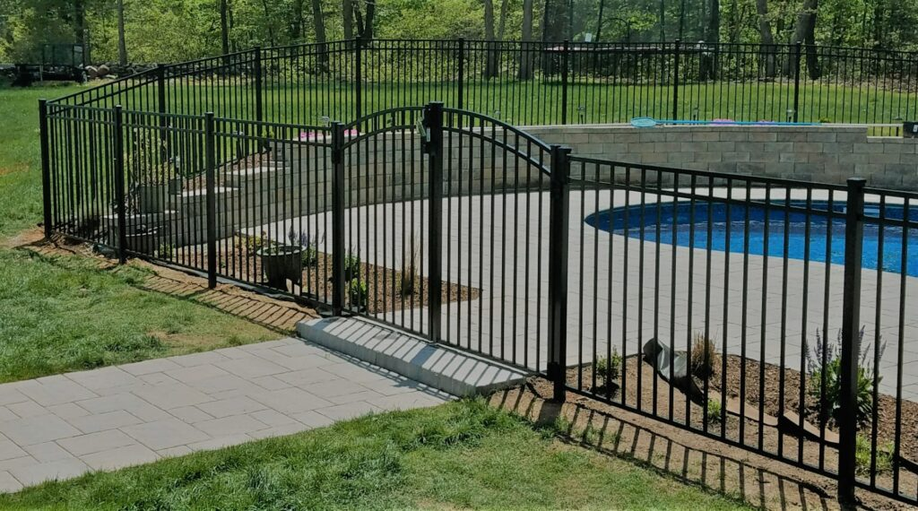54 Inch Custom Entrance Gate