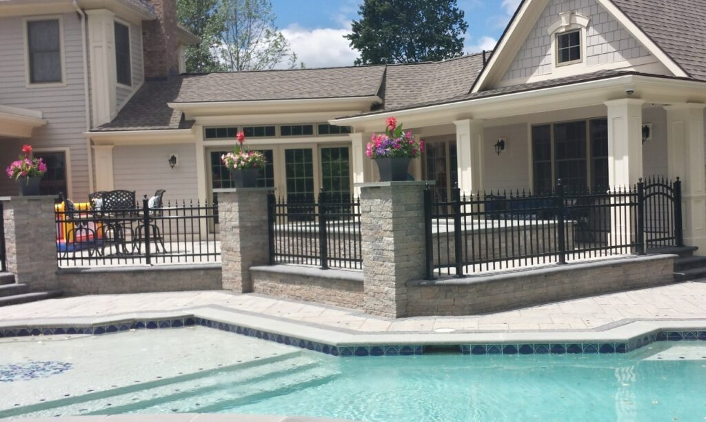 ORNAMENTAL IRON - Custom Ornamental Steel Fence 2