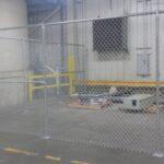 8_ H Galvanized Chain Link Interior Fence