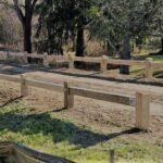 8x8 Wood Guard Rail 2