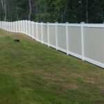 SLIDER - 6_ H Solid Privacy Vinyl Perimeter Fence