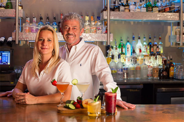 Brian and Julie Curry - Owner and Proprietors of Jazz'd Tapas Bar