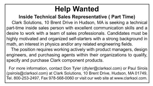 Clark Help Wanted online 070914