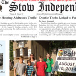 In This Week's Print Edition… August 20, 2014