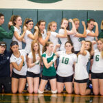 Team Effort Brings Volleyball Win