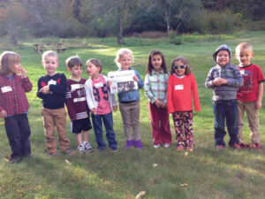 The Stow Area Parents Network recently held their first Pre-K event at Wolbach Farm in Sudbury. Eleven families attended the scavenger hunt, with 9 of them featured here.