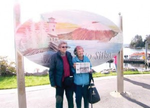 High school classmates Janet Dean, 90 of Ithaca, NY and Eileen McDonnell, 89, of Stow visited Alaska together last fall.