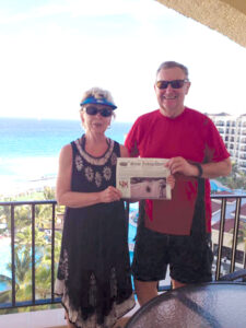 The Stow Independent spent March in sunny and warm Cancun, Mexico with Roberta and George Lamont.