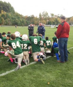 Nashoba 8th Grade Chiefs to Playoffs…Oct. 21, 2015