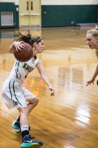Sophomore Sarah Gillooly #4             Adrian Flatgard