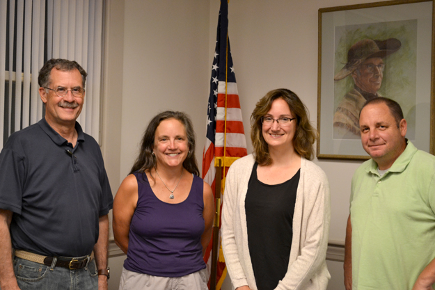 The now-disbanded ESBC's (l-r) Craig Martin, Ellen Sturgis, Amy Hastings, and Steve Quinn.  Ann Needle photo