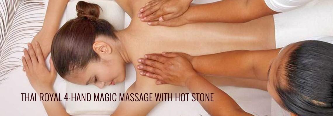 (home slide – royal 4 hand massage)