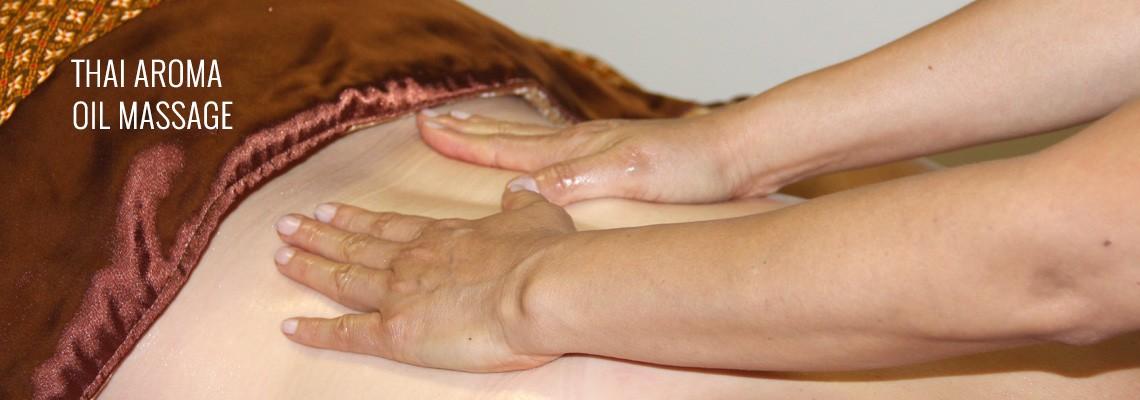 (home slide-aroma oil massage)