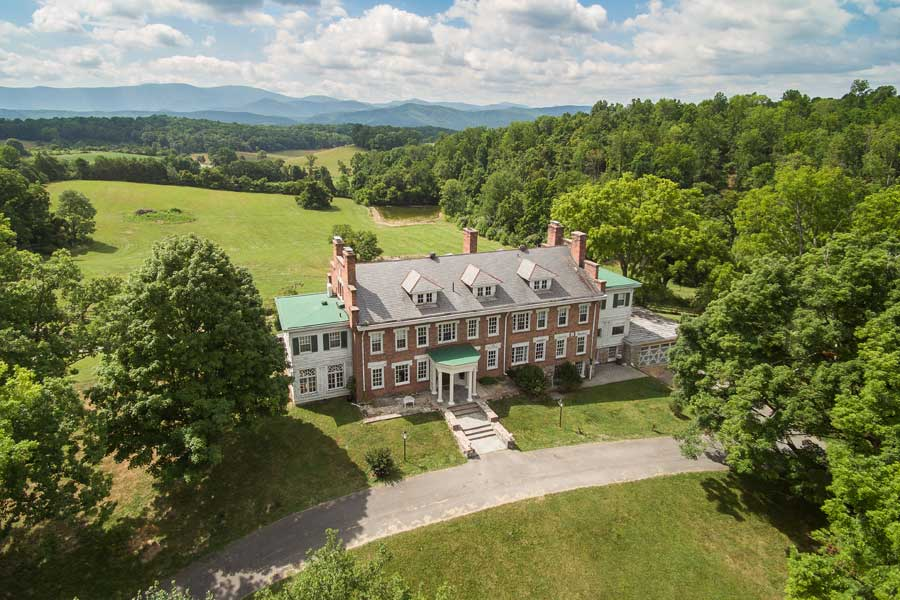 inn at forest oaks and grounds in virginia