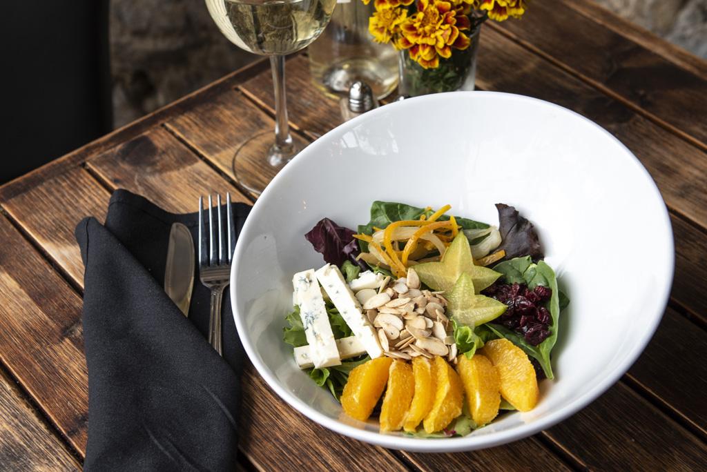 Fresh Orange Salad