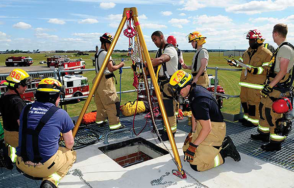 November Safety Corner  – Confined Spaces and Rescue Operations