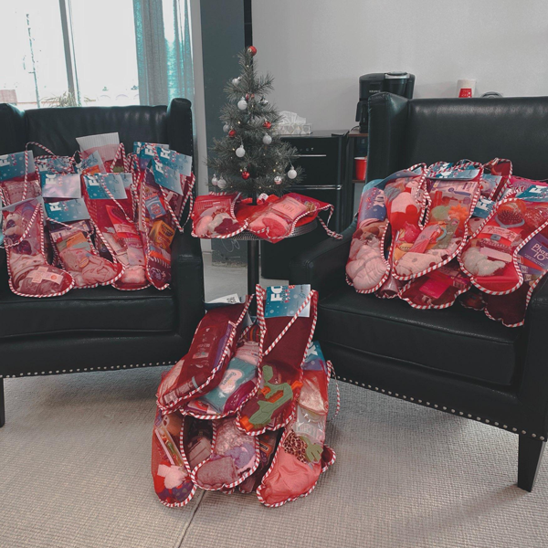First Call Cares December – FOX Holiday Socks for the Salvation Army