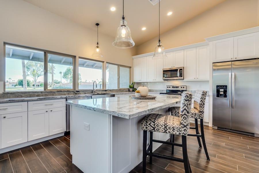shaker kitchen cabinets in phoenix