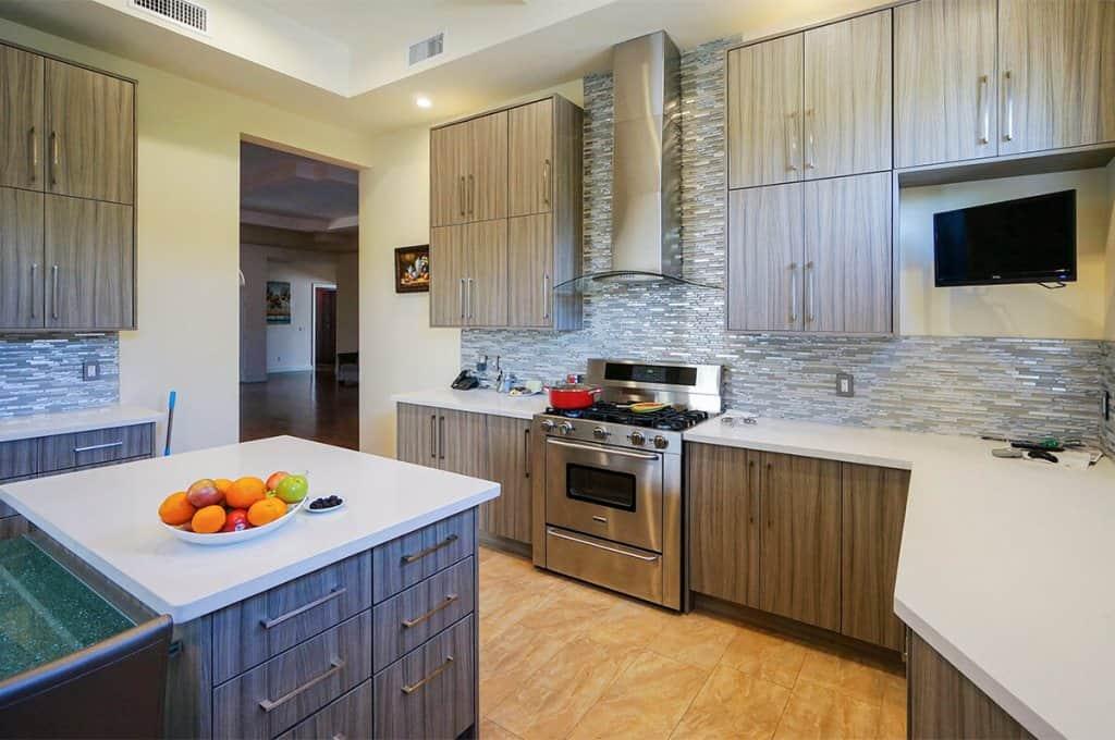 weather grain frameless kitchen cabinets