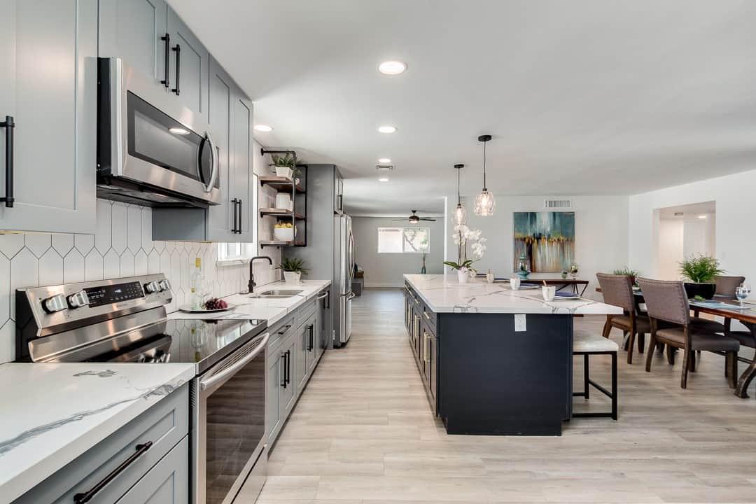 cabinet design for a custom kitchen in arizona