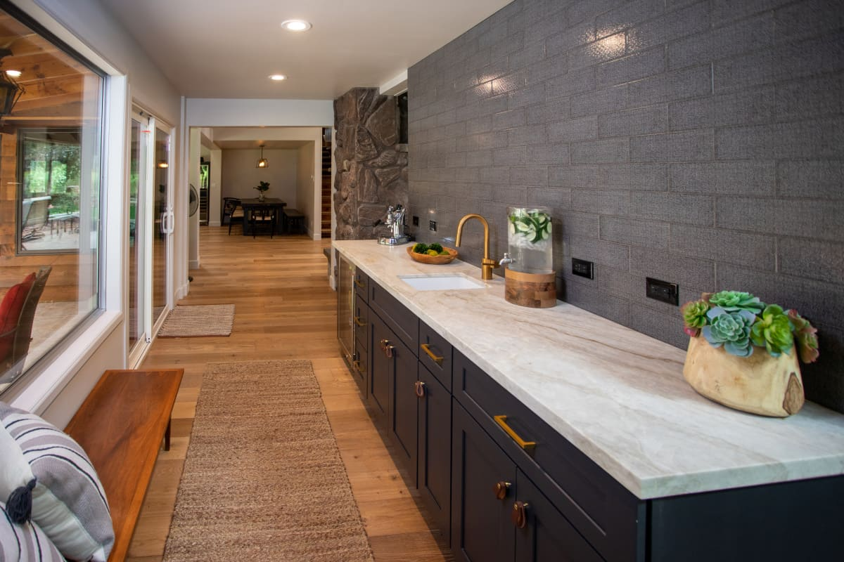 Dark kitchen cabinet renovation arizona