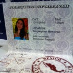 Travel Themed Bat Mitzvah - Passport Place Cards