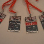 Red Sox Themed Bar Mitzvah - VIP Passes Place Cards