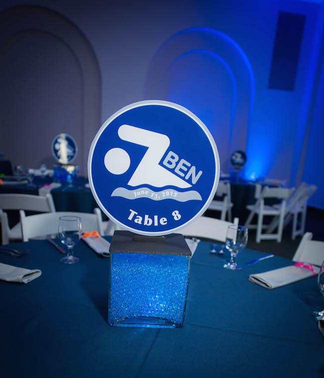 Swim Centerpiece - Photo by Get the Picture Productions
