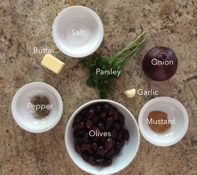 olive ingredients