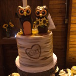 wedding cake for rustic wedding