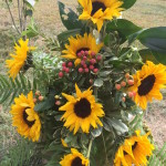 Sunflowers made by Events by Amy