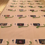 Bookmark Place Cards - Each Table is a different Book