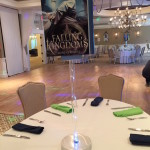Giant Book Centerpiece of Falling Kingdoms - For Book Themed Party