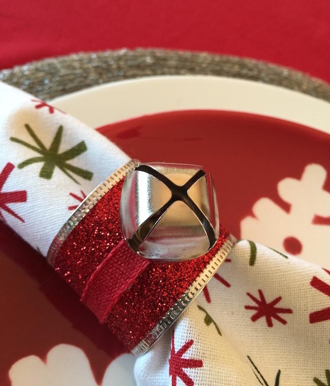 Jingle bell napkin ring copy