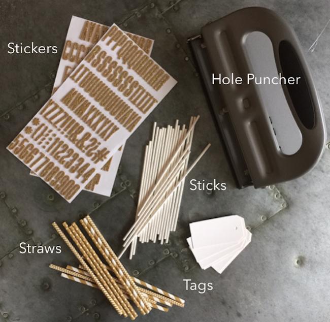 Supplies for Stir Sicks