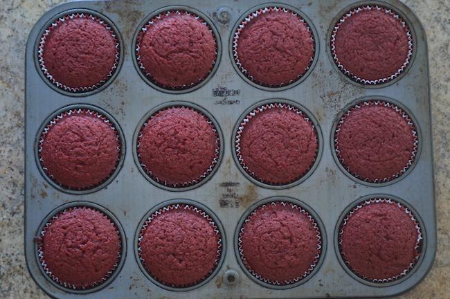 Baked Red Velvet Cupcakes