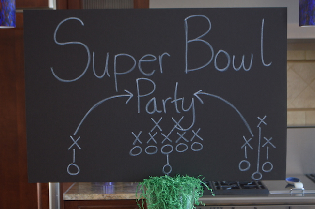 Super Bowl Sign