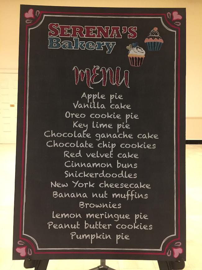 Bakery Themed Bat Mitzvah Party