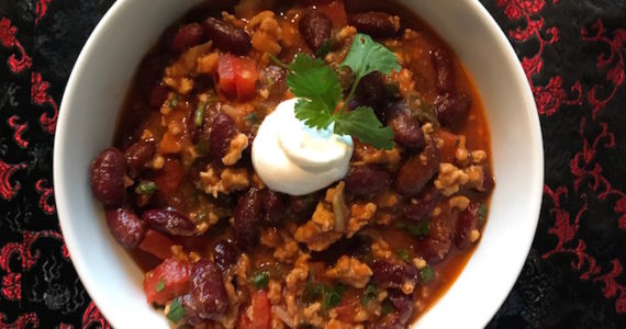 Asian Chicken Chili