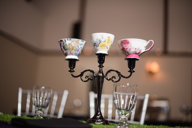Alice in Wonderland Themed Bat Mitzvah Party