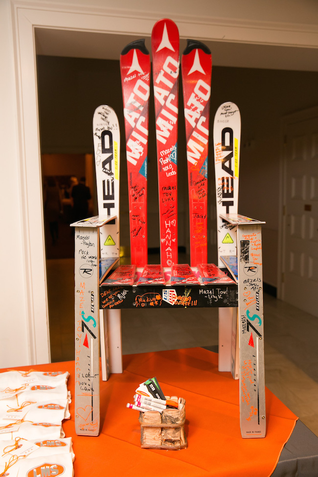 Ski Themed Bar Mitzvah Party
