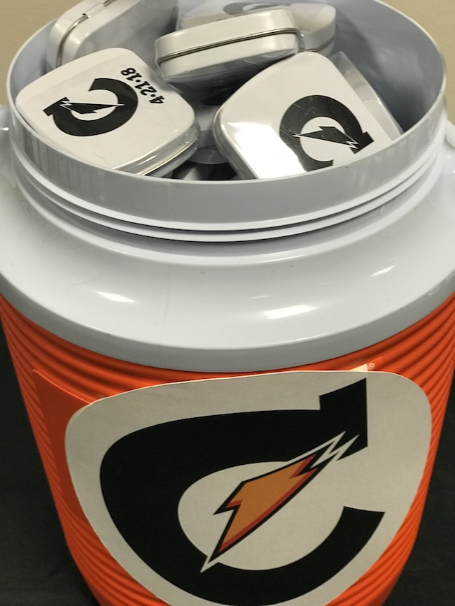 Gatorade Themed Bar Mitzvah Party