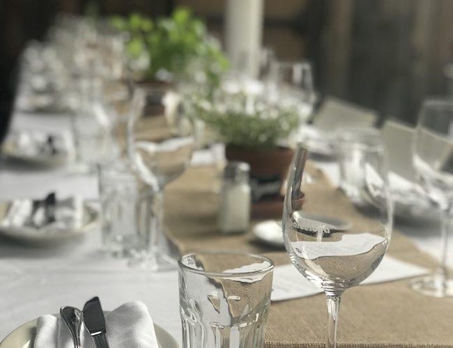 Garden Themed Pre-wedding Dinner at Barcelona Wine Bar