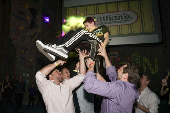 Nathan's Famous Coney Island-themed Bar Mitzvah Party