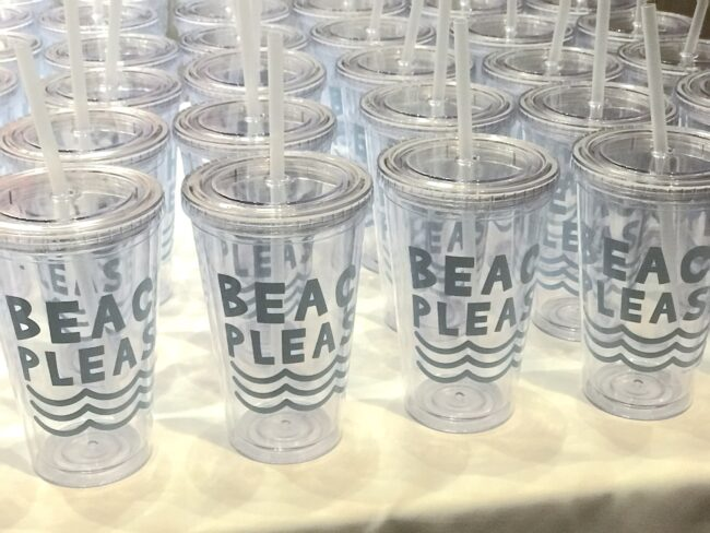 Water Cup giveaways